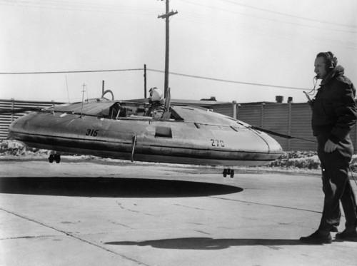 Avrocar - der kanadische Versuch einen Flugkreisel zu bauen